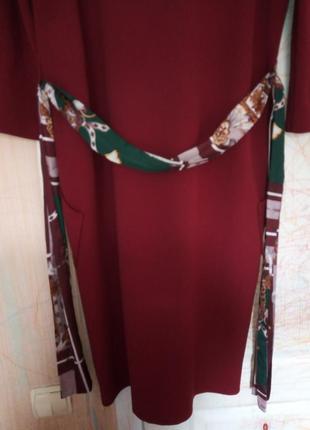 Платье  zara с накладными карманами4 фото