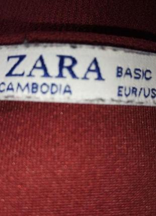 Платье  zara с накладными карманами5 фото