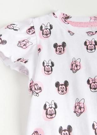 Блуза з оборками disney