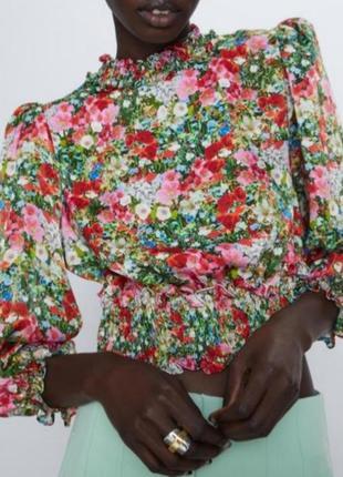 Шикарная блуза zara