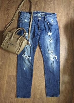 ❤️рваные джинсы ботал