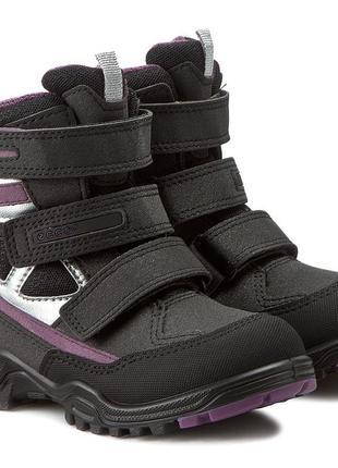 Зимние ботинки сапоги ecco xpedition экко 34 размер 22см