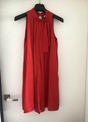 Красное платье от mango , s р
