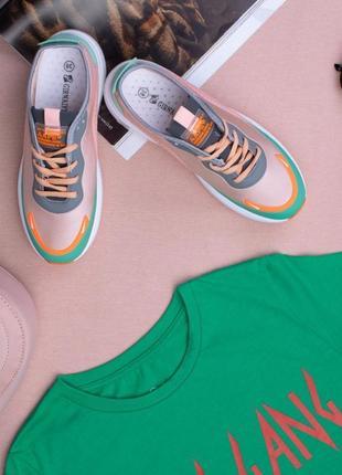 Кроссовки на платформе (330509)
