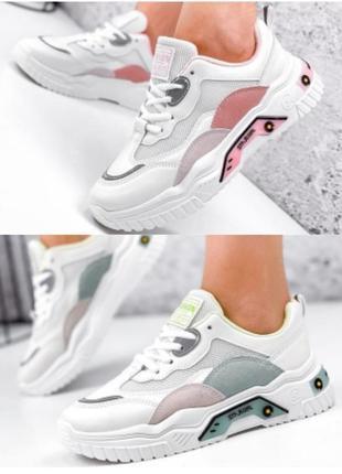 Стильні жіночі кросівки на р-ри 36-38