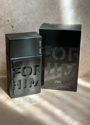 Zara for him black edition /чоловічі парфуми /мужской парфюм
