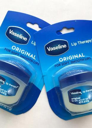 Бальзам для губ vaseline lip therapy original 7 г