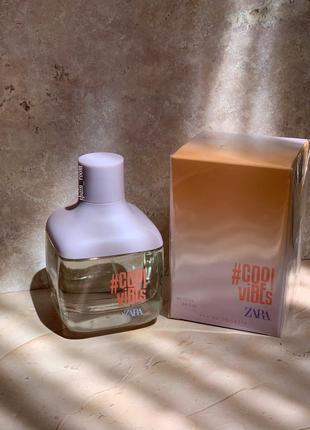 Духи zara cool vibes /жіночі парфуми/туалетная вода