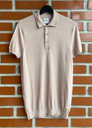 Zara оригинал мужская футболка поло размер s зара б у