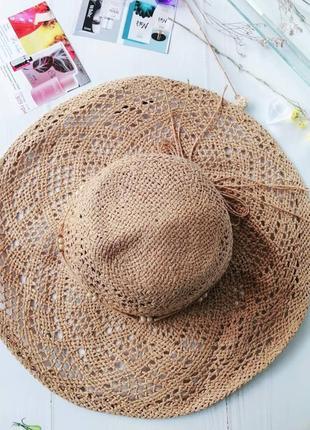 Акция!!!! шляпа соломеная