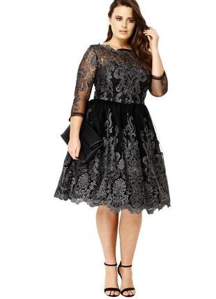 Новое шикарное вечернее платье в стиле барокко