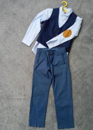 Шикарный комплект для первоклашки lc waikiki на возраст 6-7 лет и рост 116-122 см.