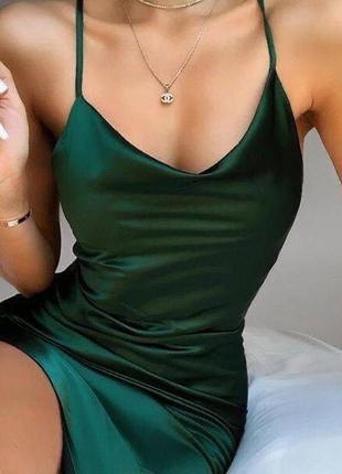 Платье шелк2 фото
