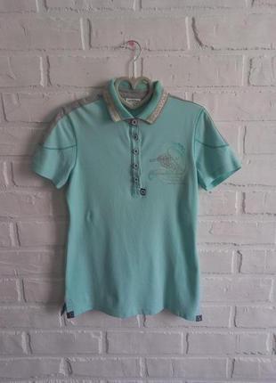 Стильная футболка-поло sportalm
