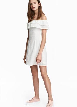 Новое платье h&m, прошва. размер 34
