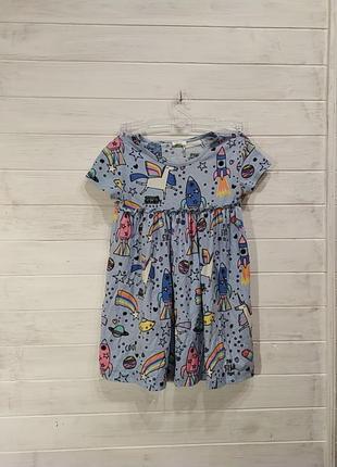 Красивое детское платье на 3-4 года