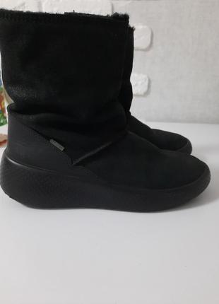 Ботинки деми, теплая зима ecco оригинал, размер 34 можно и на 33 под носочек