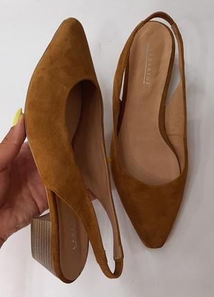 Кожа , замш! натуральные кожаные, замшевые туфли/ балетки/ мюли / ....