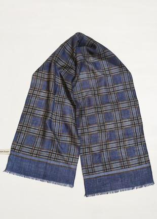 Шерстяной ультратонкий шарф jammers leufgen  германия /5665/