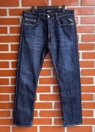 Replay оригинал мужские чёрные джинсы штаны размер 34 реплай реплей б у