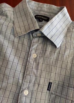 Летняя мужская рубашка сорочка літня чоловіча