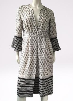 Шелковое платье (100% шелк) бренда by malene birger, дания