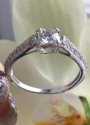 Кольцо серебряное мадонна