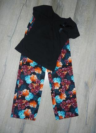 Xs/8/36 george,англия!пижама натуральный хлопок новая