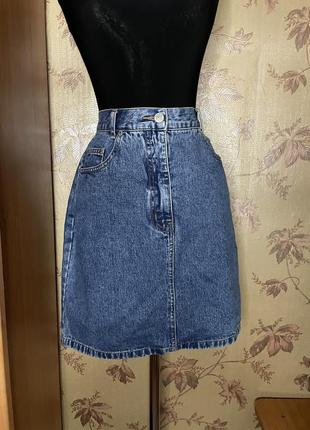 Стильная джинсовая юбка 🖤 jinglers🖤