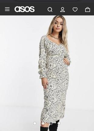 Шикарное платье missquided (сайт asos актуальная коллекция)