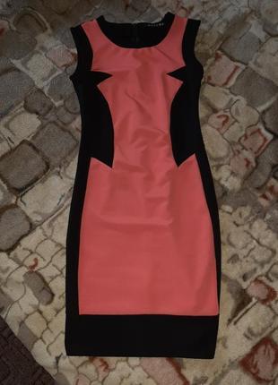 Красивое стрейчевое платье для худенькой девушки, размер xs - s, 34-36 размер