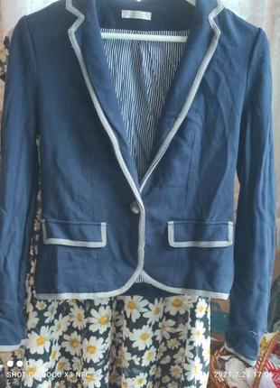 Супер стильный трикожный пиджак