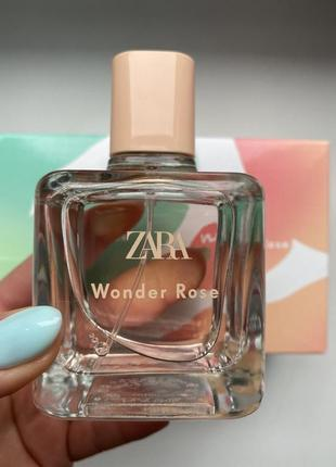 Zara wonder rose 100 мл. оригінал іспанія