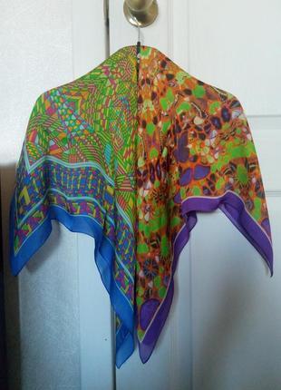 Шейные платочки/платки 100% шелк