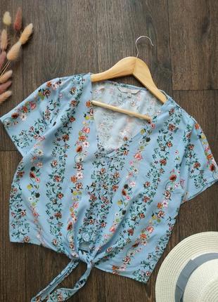 Нежная натуральная блуза, рубашка