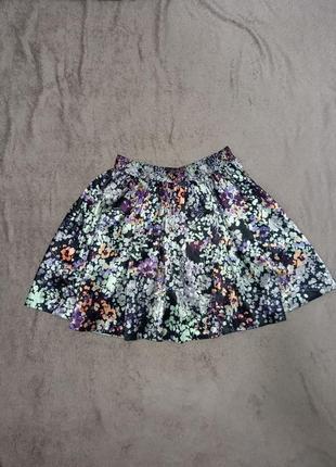 Очень красивая юбка мини юбка клёш