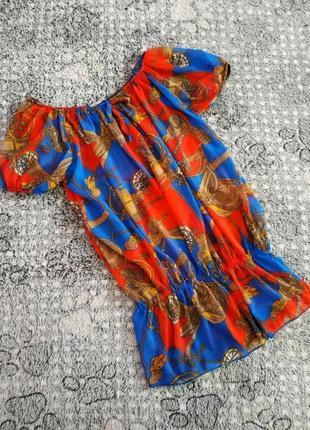 Легенька блузка-реглан