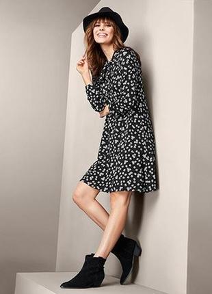 Стильное романтическое платье в ромашковом стиле от tcm tchibo (чибо), германия, размер s-2xl