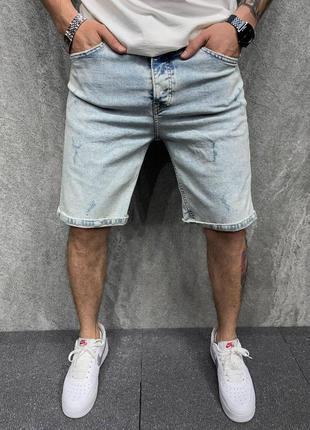 Шорты джинсовые мом ультраширокие