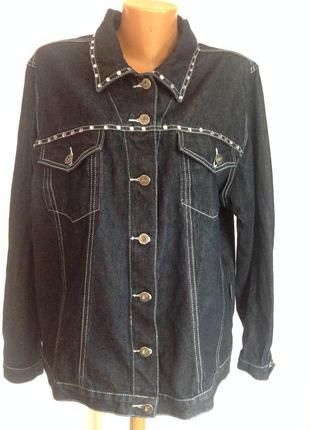 Большая джинсовая курточка. 22-24/ brend east coast