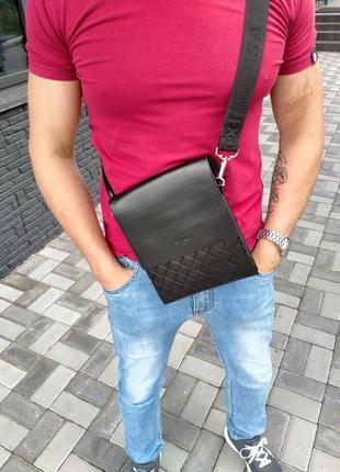 Мужская сумка, барсетка, месенджер saro