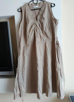 Красивое хлопковое платье