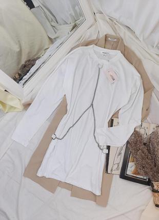 Платье/туника one size с цепями