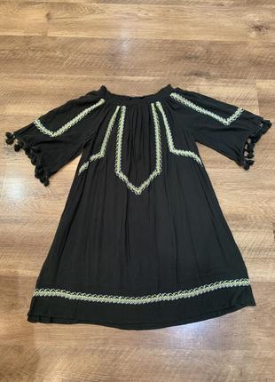 Платье свободного кроя redhering