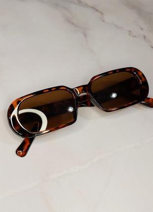 Вінтажні леопардові окуляри