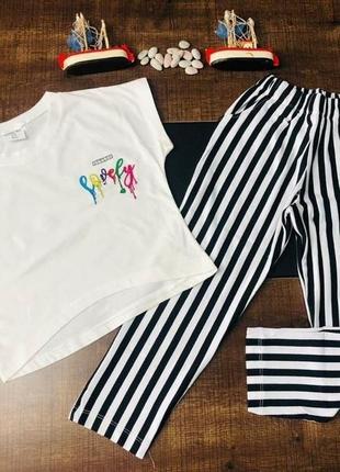 Костюм дитячий / капрі і футболка