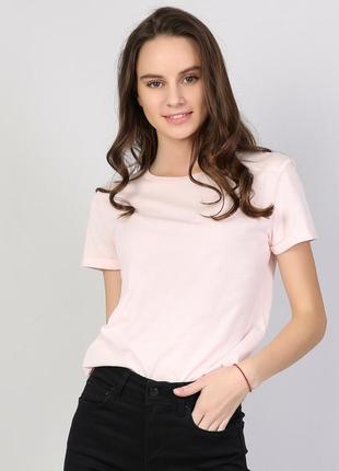 Жіноча футболка з коротким рукавом, женская футболка, светлая футболка.