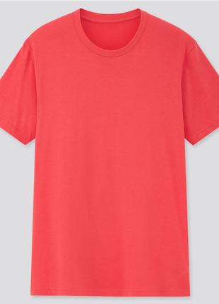 Качественная базовая футболка dry color uniqlo