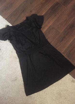 Распродажа! платье под шёлк с воланом на рукавах vero moda
