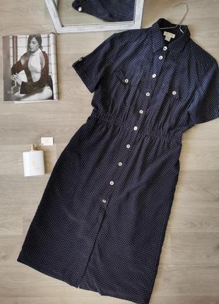 Трендовое шёлковое платье халат от peter hahn